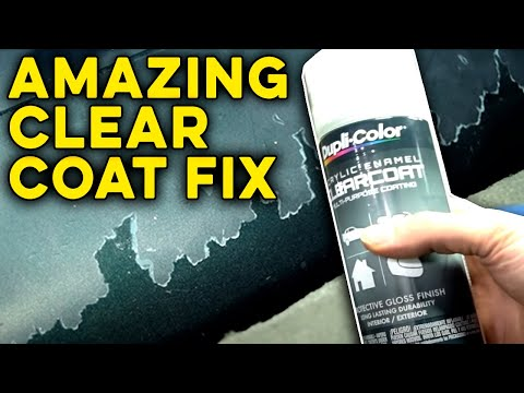 Can You Repair Badly Damaged and Peeling Clear Coat?