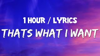 Download lagu Lil Nas X - THAT'S WHAT I WANT (1 HOUR LOOP) With Lyrics