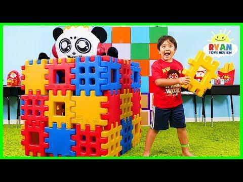 Ryan Pretend Play Building Toy Blocks Playhouse