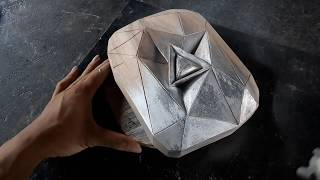 Tự làm nút kim cương trên Youtube (Making Diamond Play Button)