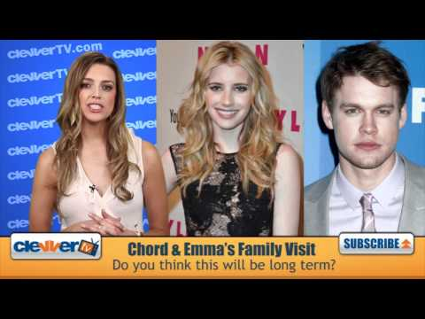 Chord Overstreet & Emma Roberts A New Couple?