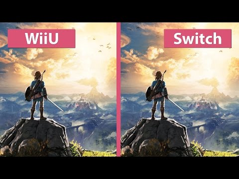 Zelda Breath of the Wild – Wii U vs. Switch Graphics Comparison Nintendo