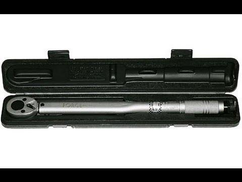 Динамометрический ключ. Как им пользоваться. Torque wrench. How to use it.
