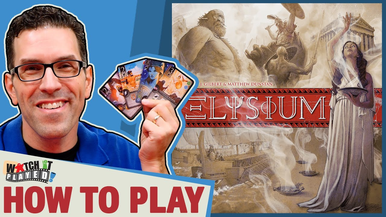 Watch It Played is a series designed to teach and play games! In this episode we're going to learn how to play Elysium! INDEX 00:00 - Introduction 00:47 - Se...