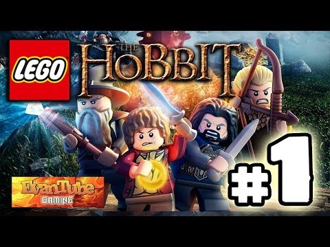 Let's Play LEGO The HOBBIT Video Game - PART 1 EREBOR: Greatest Kingdom in Middle-Earth!