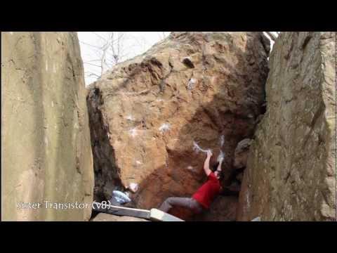 Connecticut Traprock Bouldering