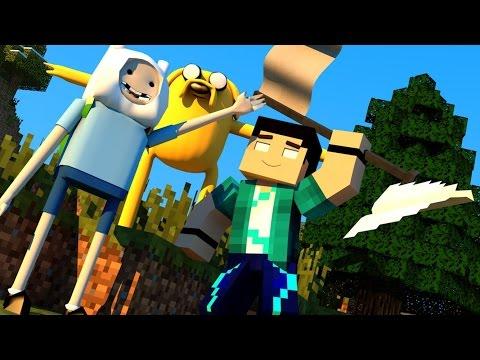 Minecraft Mods MORPH HIDE AND SEEK HORA DE AVENTURA Adventure Time MOD