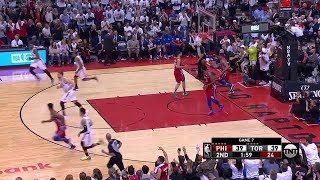 2nd Quarter, One Box Video: Toronto Raptors vs. Philadelphia 76ers