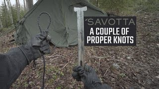 Propet tip, couple of proper knots