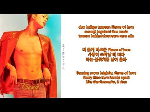 Taemin - Flame Of Love [Korean Ver.] (Rom~Han~Eng)