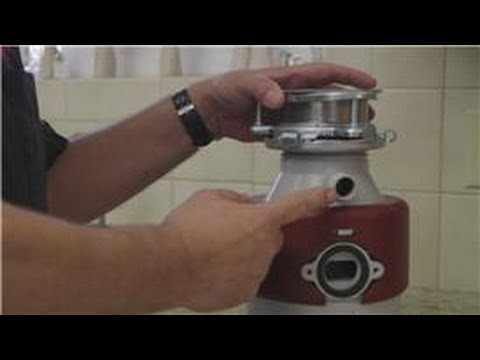 home appliances how to remove the garbage disposal knockout plug youtube. Black Bedroom Furniture Sets. Home Design Ideas