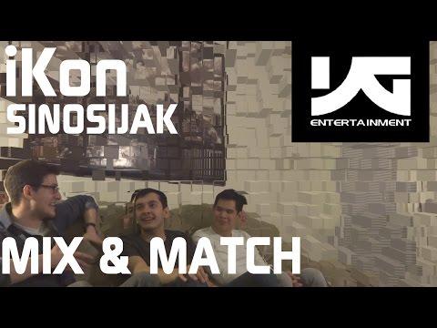Ikon (mix&match) - Sinosijak Live Reaction, Non-kpop Fan Reaction [hd] video