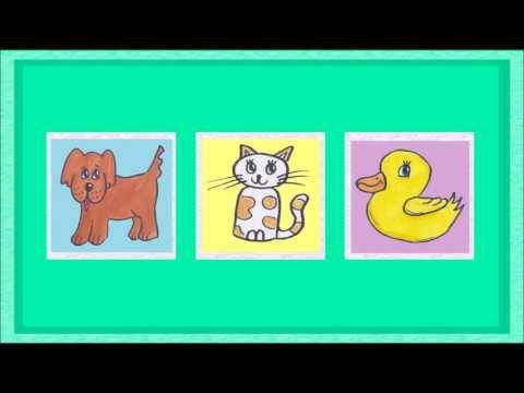 Deutsch Lernen: TIERE - Ein Spiel (game - Jeu De Kim)