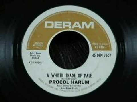 Procol Harum - A Whiter Shade Of Pale - 1967 (Tom Moulton's Sync Stereo Mix) Music Videos