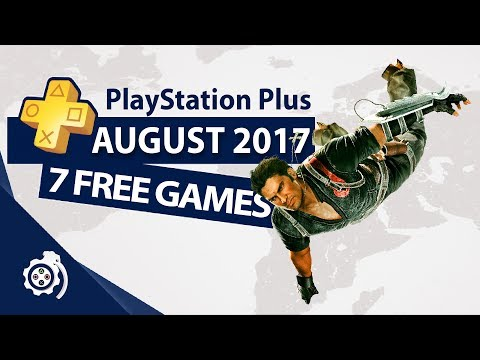 PlayStation Plus (PS+) August 2017
