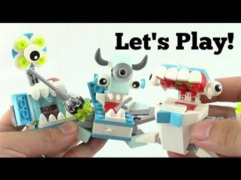 LEGO Mixels Series 8 Medix vs Iron Man - Let's Play!