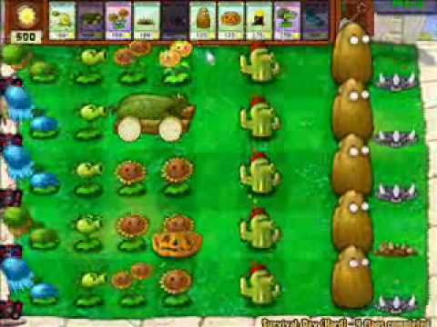 Youtube plants vs zombies survival day endless jewelry