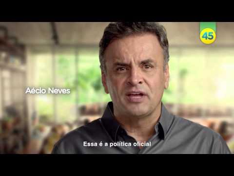 Assista ao programa eleitoral de Aécio Neves (11/10/2014 - Noite)