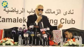 مرتضي منصور   وصلني تهديدات من داعش