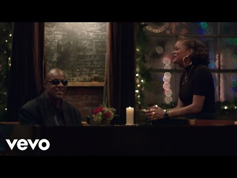 Stevie Wonder & Andra Day Someday At Christmas retronew