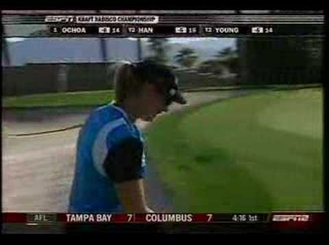Annika Sorenstam 2008 Kraft Nabisco Video