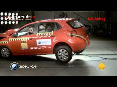 Crash test Global NCAP India - Volkswagen Polo