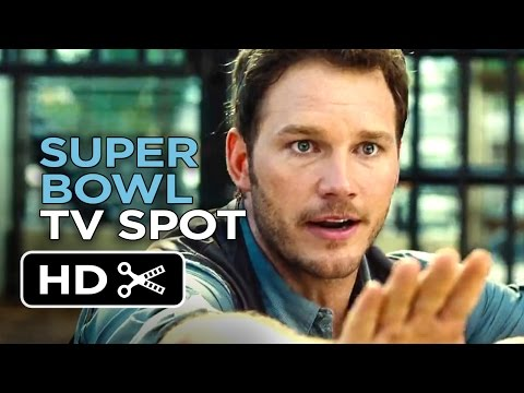 Jurassic World Official Super Bowl TV Spot (2015) - Chris Pratt Movie HD