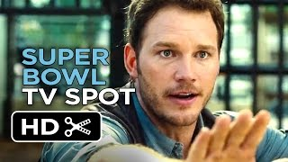 Video clip Jurassic World Official Super Bowl TV Spot (2015) - Chris Pratt Movie HD