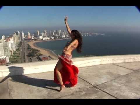 Magical Egyptian Belly Dance: Punta del Este to the feet of Faiza