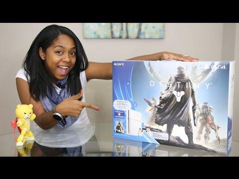 Destiny - Glacier White PS4 Bundle Unboxing!