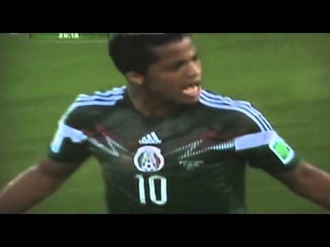 MEXICO vs CAMERUN 1-0  BRASIL 2014 resumen