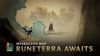 Runeterra Awaits | Interactive Map - League Of Legends