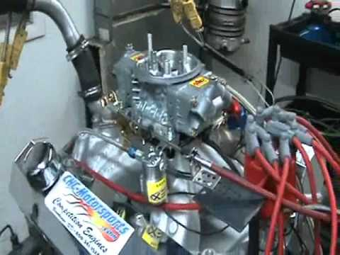 Small Block Chevy 396 with Nitrous