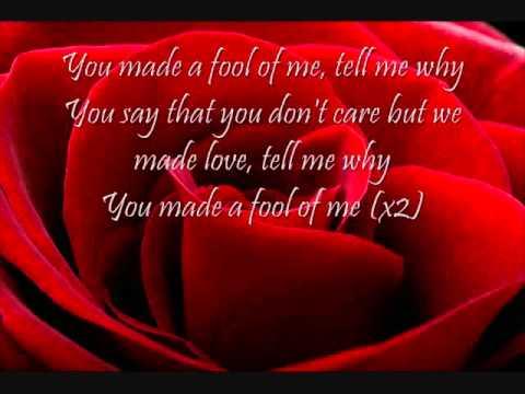 Fool Of Me Me'Shell Ndegeocello with lyrics