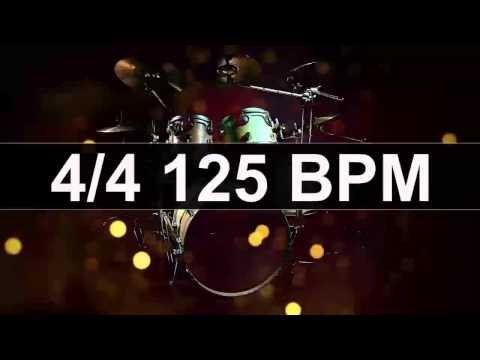 Drums Metronome 125 BPM
