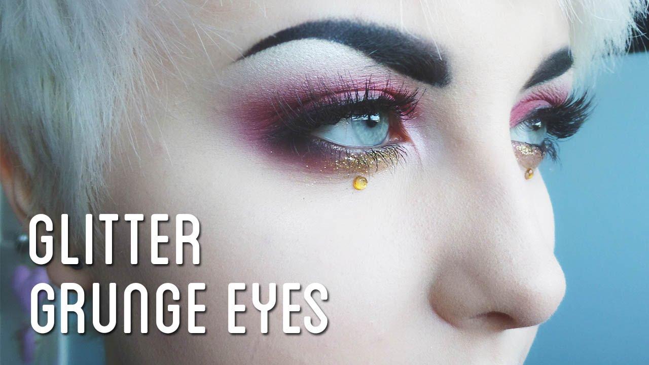 Grunge eye makeup