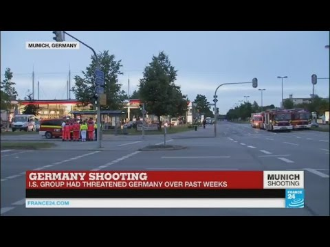 """Shooting in Munich - """"very difficult time for police in Germany and in Western world"""" (July 22)"""