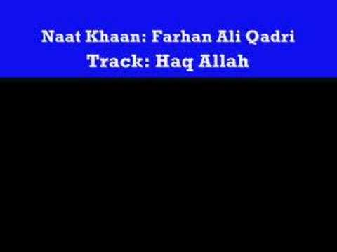 Haq Allah By Farhan Ali Qadri Yamustafa.com