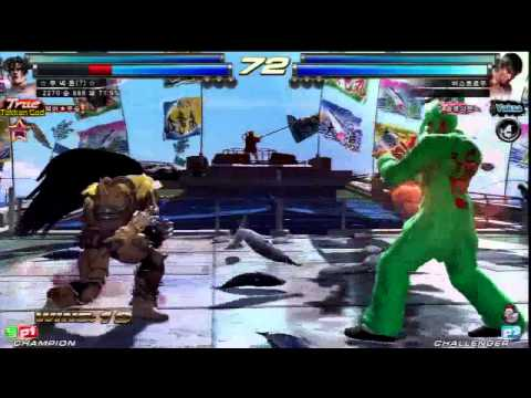 TEKKEN TAG2 UL 5/18 KNEE VS TEKKEN USERS