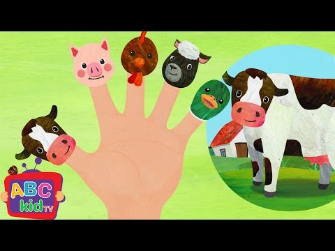 Finger Family Farm Animals (2D) | CoCoMelon Nursery Rhymes & Kids Songs