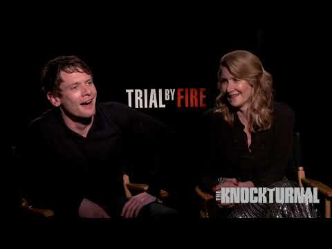 Laura Dern, Jack O'Connell & Director Edward Zwick Talk 'Trial By Fire'