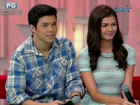 Startalk: Young sweethearts Janine Gutierrez and Elmo Magalona... LIVE!