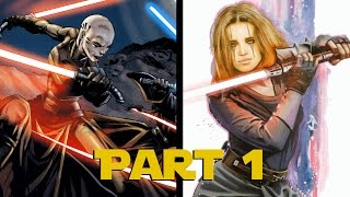 VS | Asajj Ventress vs Darth Zannah (1/2)
