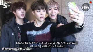 [ENG] 150108 BOMB: Like in a singing room (room?)
