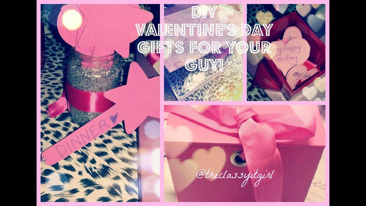Diy Valentine 39 S Day Gifts For Your Guy Part 1 Youtube