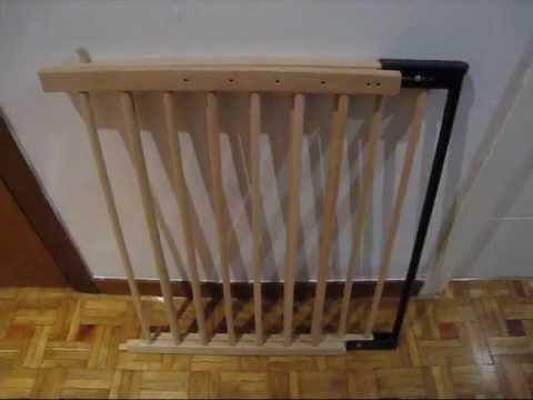 Barandilla de seguridad de madera para protecci n ni os - Rejas de madera ...