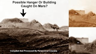 Hanger Or Building Caught On Mars?