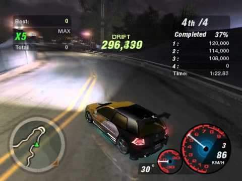 Need For Speed Underground 2 Drift