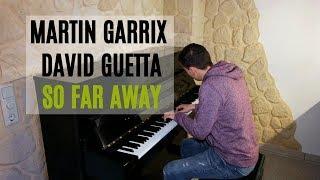 Martin Garrix & David Guetta - So Far Away (feat Jamie Scott, Romy Dya) Piano Cover by Marc Bergen