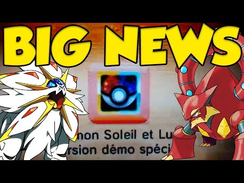 CRAZY POKEMON NEWS UPDATE! Pokémon Sun and Moon Demo & Legendary Events!